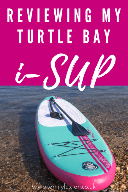 Turtle Bay Inflatable Paddleboard Review