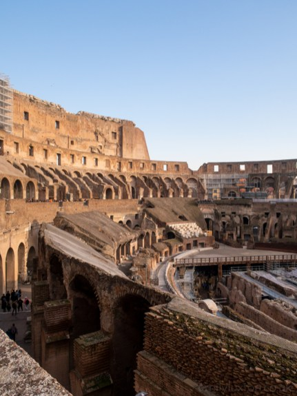 Colosseum Rome in January