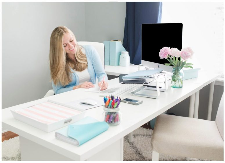 Small Business Office Workspace
