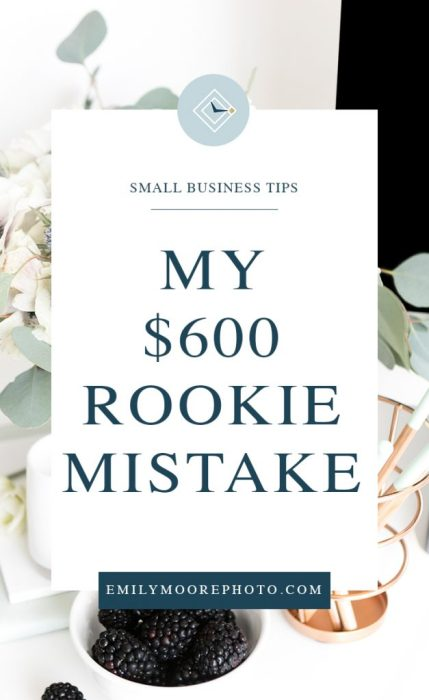 My $600 Rookie Mistake | Emily Moore