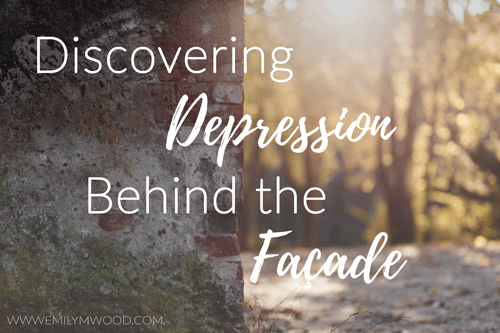 Discovering Depression Behind the Façade