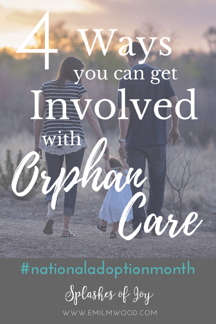 4 Ways You Can Get Involved with Orphan Care