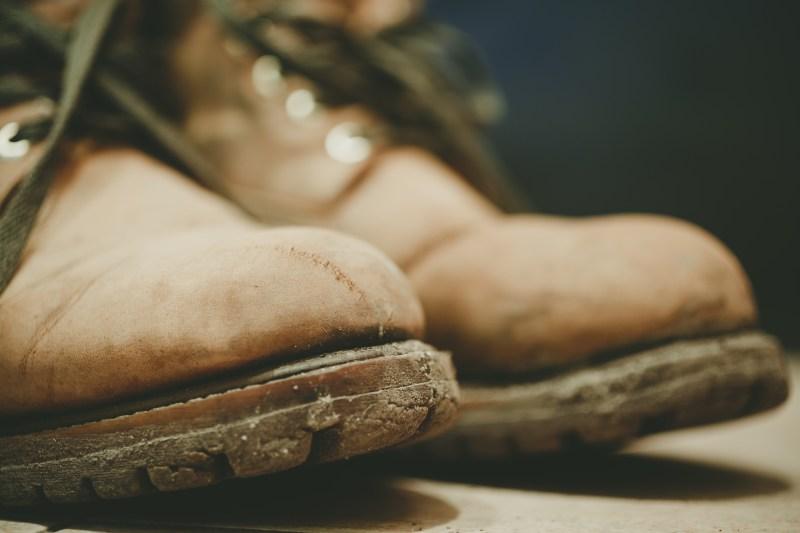 heavy boots