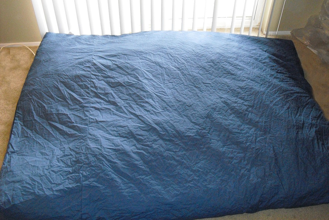 CordaRoys Full Sleeper Bean Bag Chair and Mattress Review
