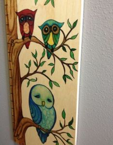 Since we currently have four children    choosing to mark the wall next chart but you could write on if wanted also growth art owl review giveaway us emily rh emilyreviews