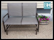 brylane home double glider