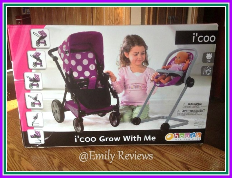 icoo Grow With Me Doll Stroller  High Chair Set Review
