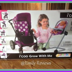 Baby Toy High Chair Set Best Leather Recliner I Coo Grow With Me Doll Stroller Review Icoo 7