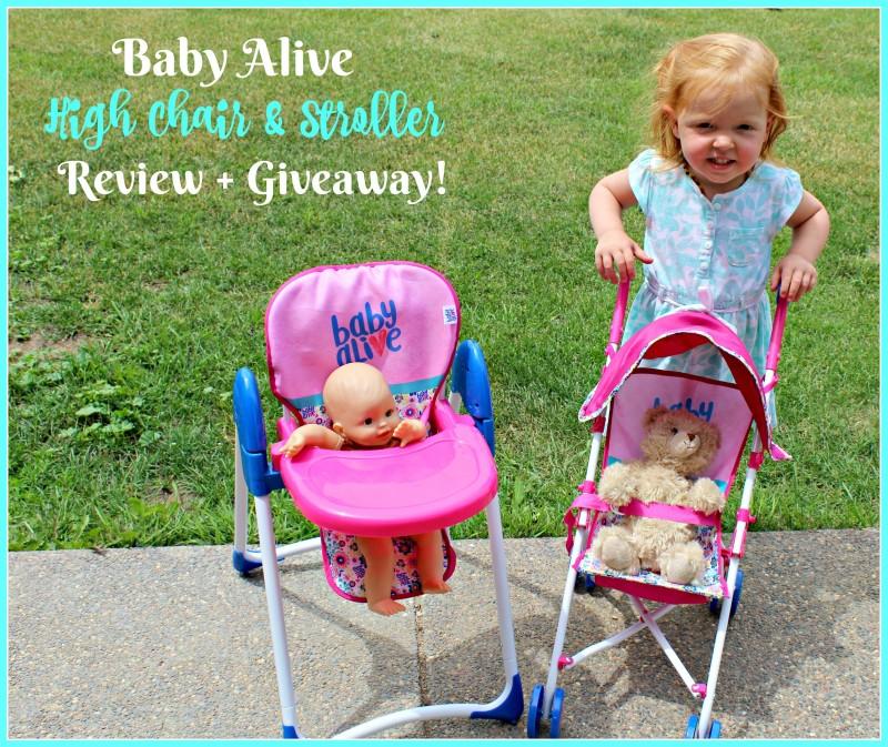 baby alive high chair folding lifetime stroller for the littlest mommies littles doll deluxe