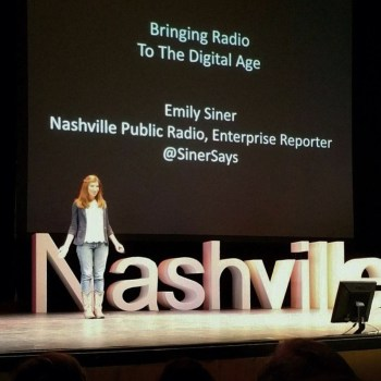 Speaking at TEDxNashville was a definite accomplishment of 2015.