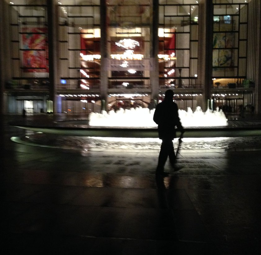 Rainy Lincoln Center
