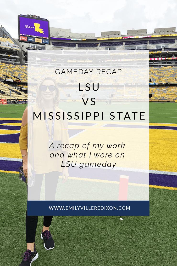Gameday Recap: LSU vs Mississippi State