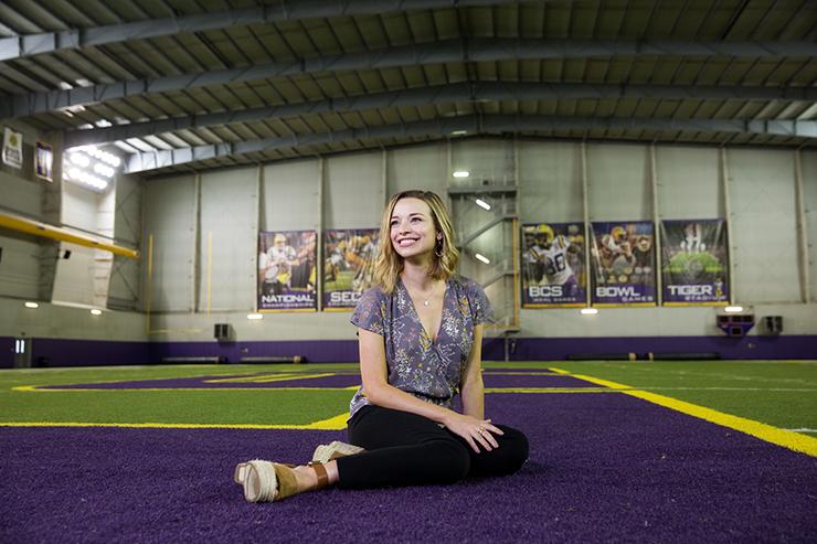 Emily Dixon, 10.17.16, LSU Sports