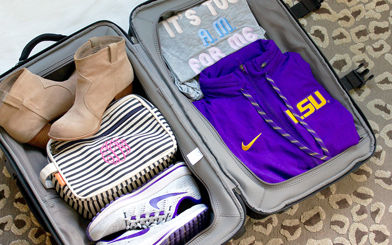 Travel | Packing for an Away Game