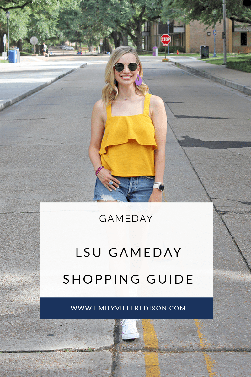 lsu shopping guide