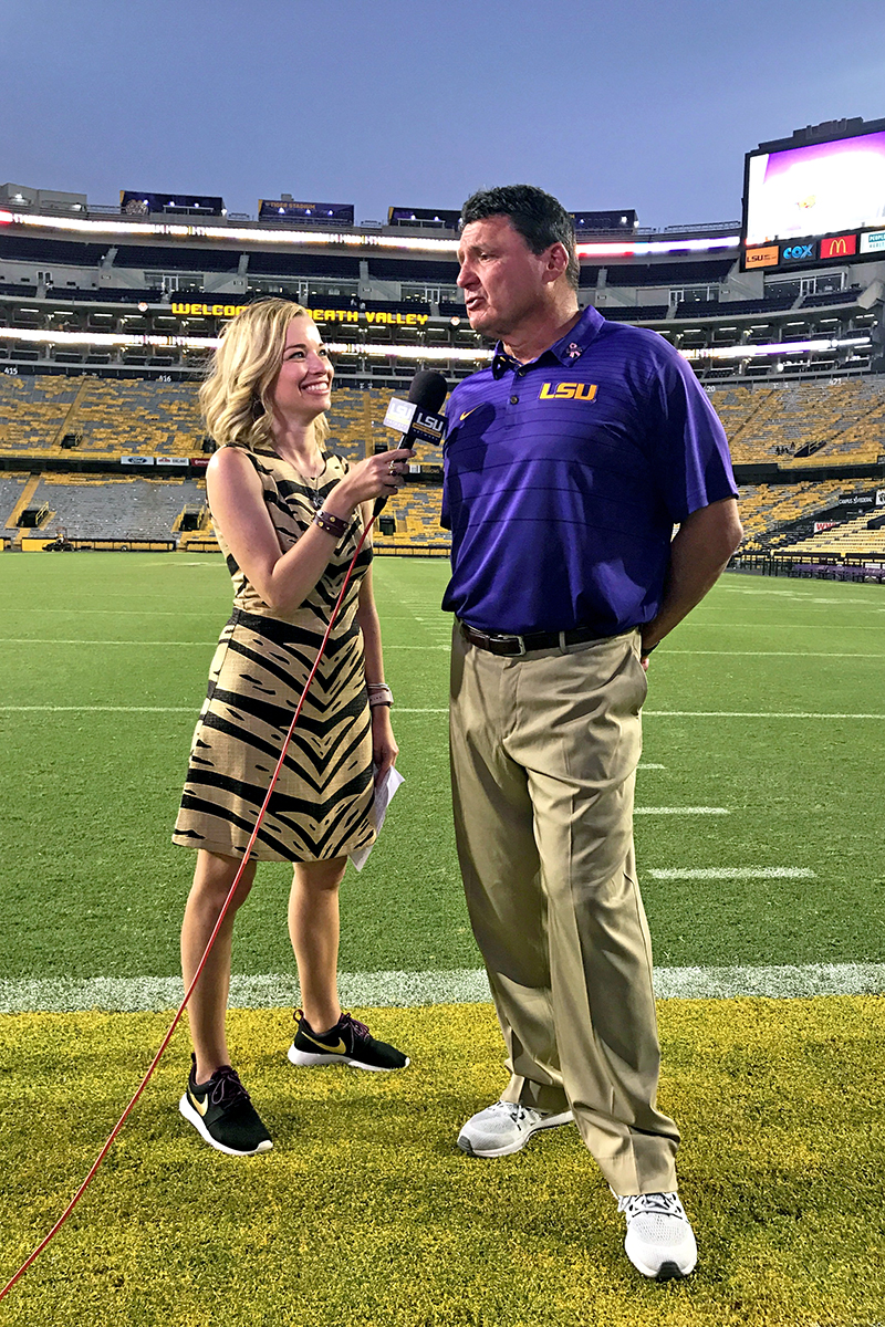 A Complete LSU Gameday Guide featured by top LSU blogger, Emily Villere Dixon