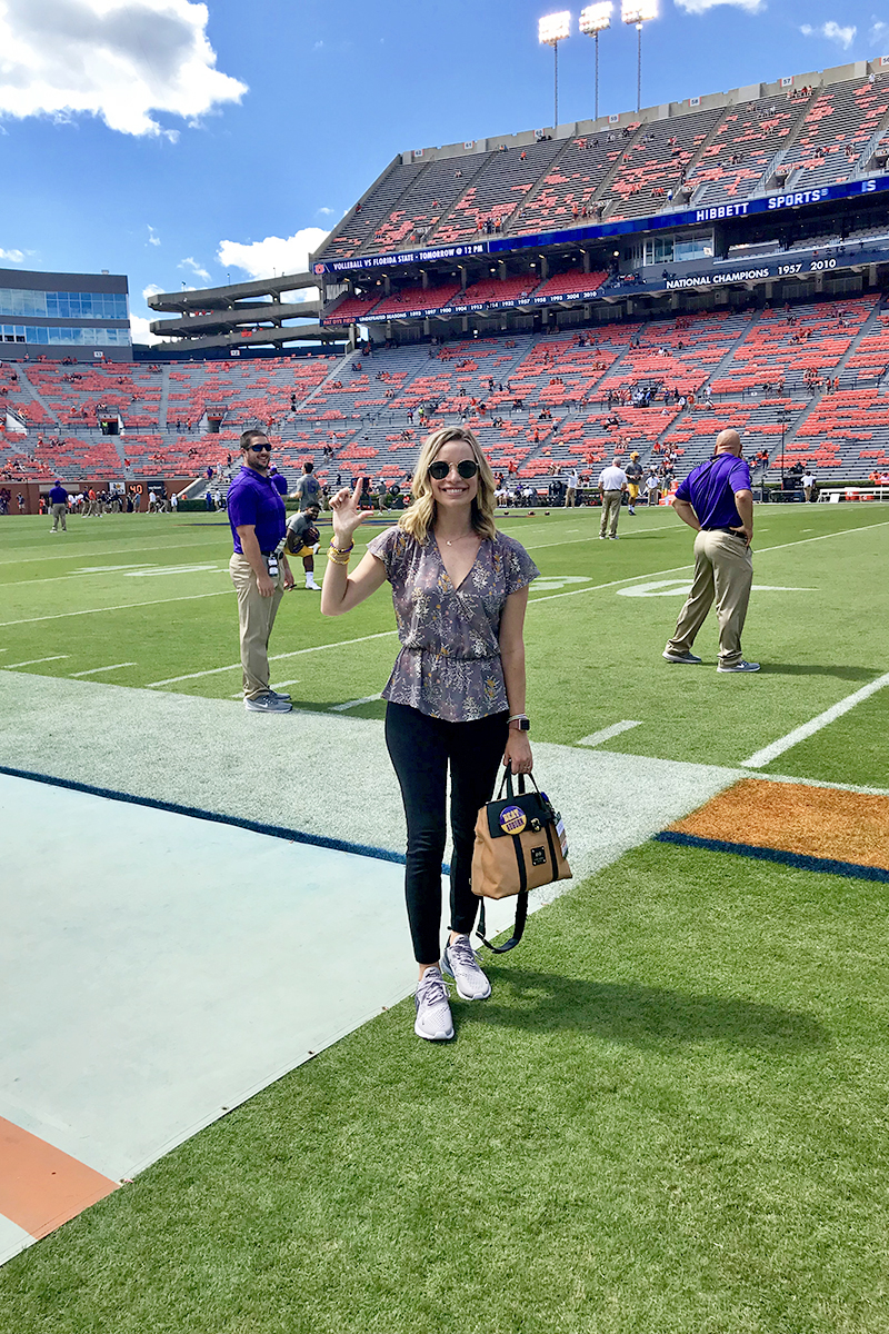 lsu vs auburn gameday outfit