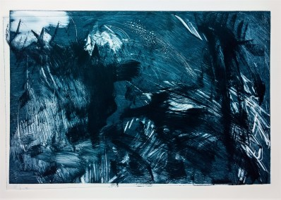 "No. 20, Monotype on Somerset, 15"" x 22"", 2016"