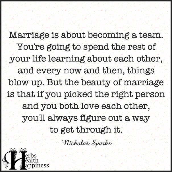 marriage is about becoming