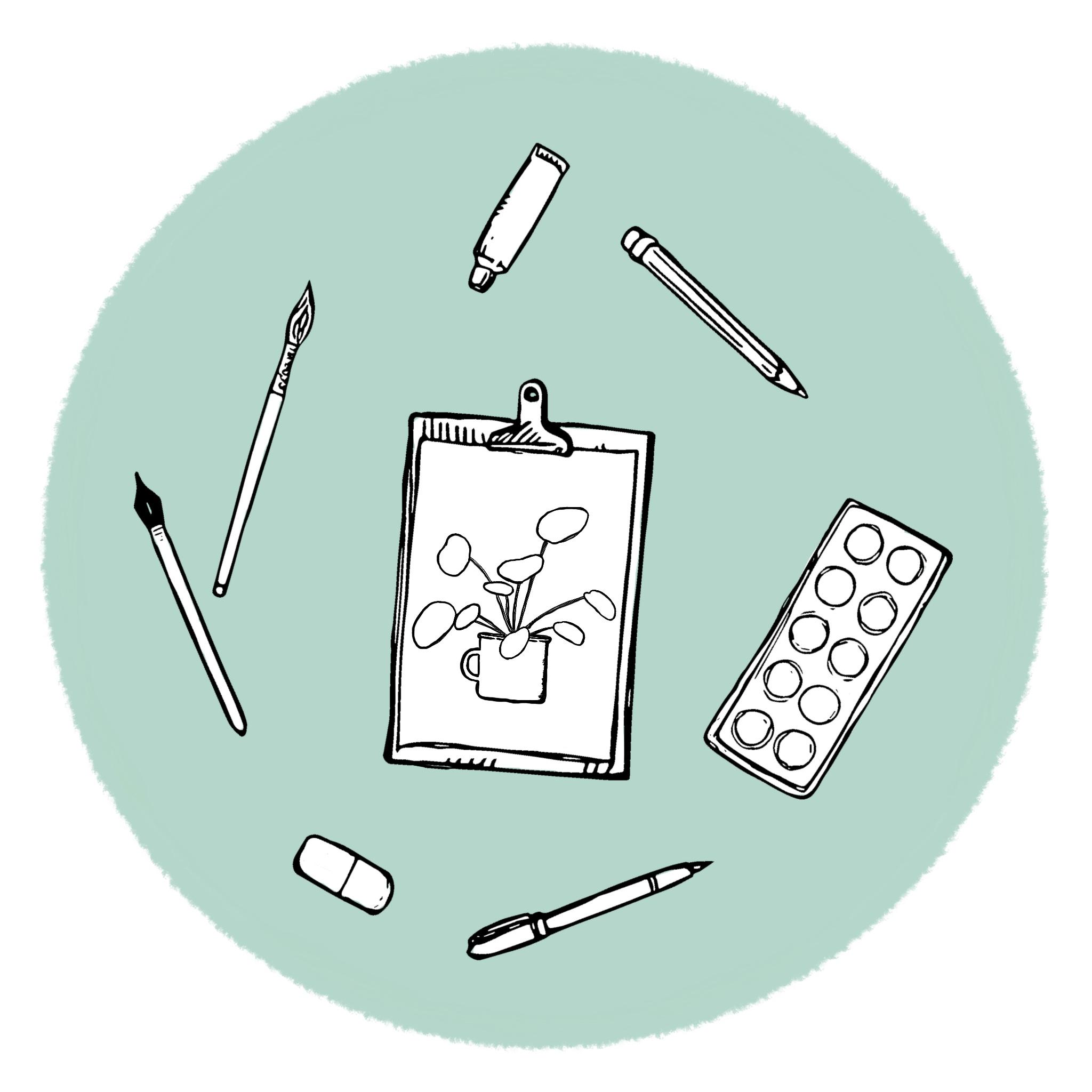 illustratie ontwerp tekening uniek op maat