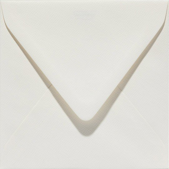 room creme gebroken wit envelop