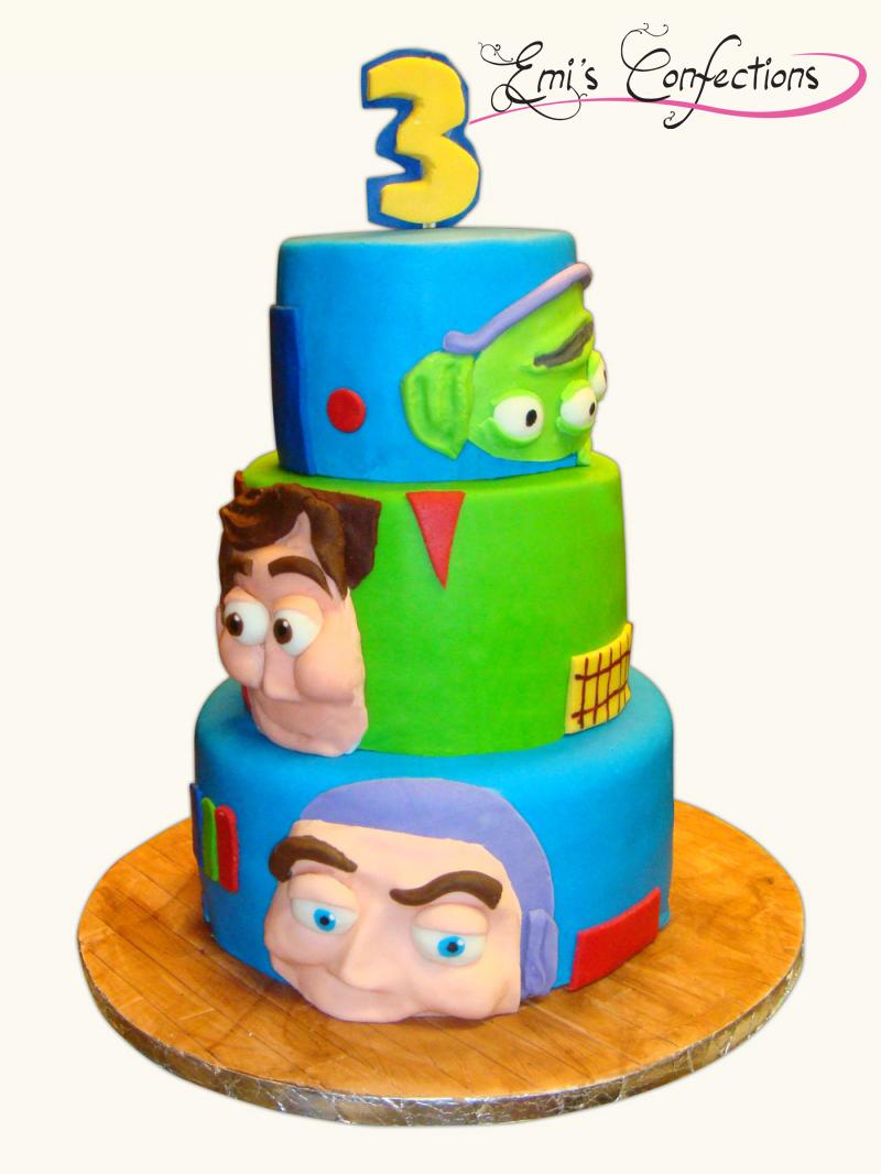 Buzz Lightyear Cookie Cake