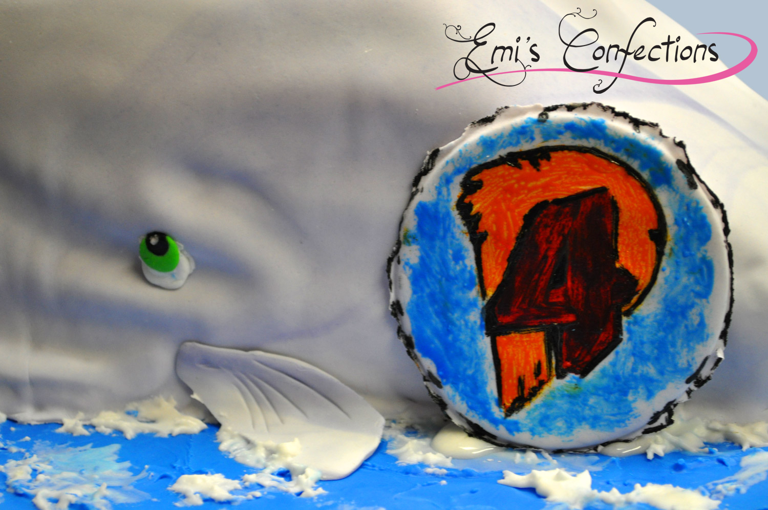 Whale Of A Cake