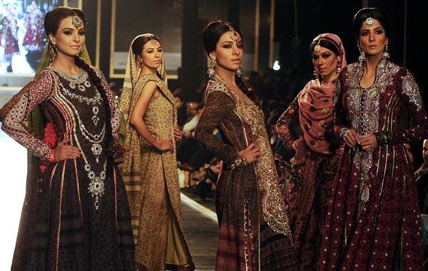 pakistani bridal couture week