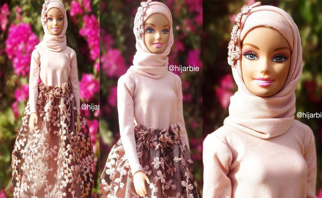 Psychological studies show the doll's image can create real. These Hijab Wearing Barbie Dolls Are Instagram Sensation Lifestyle Emirates24 7