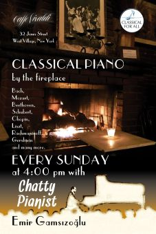 2015-Classical Piano by fireplace
