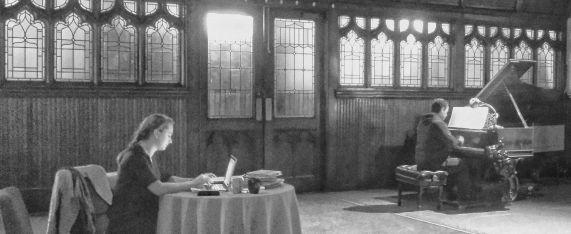 Ege Maltepe's Talking to Schubert at 4th U Society-Rehearsal-1