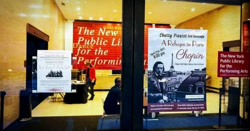 Lincoln Center-A refugee in Paris-Chopin-1