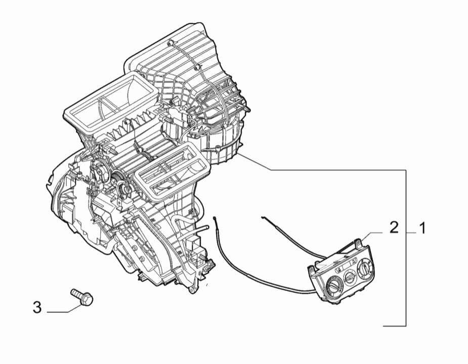 Fiat Punto Evo Kalorifer Kazanı Klimalı Komple Sıfır