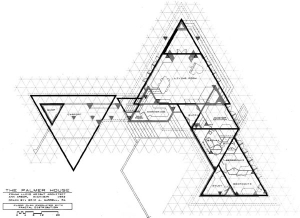 Fractal Geometry in the Late Work of Frank Lloyd Wright