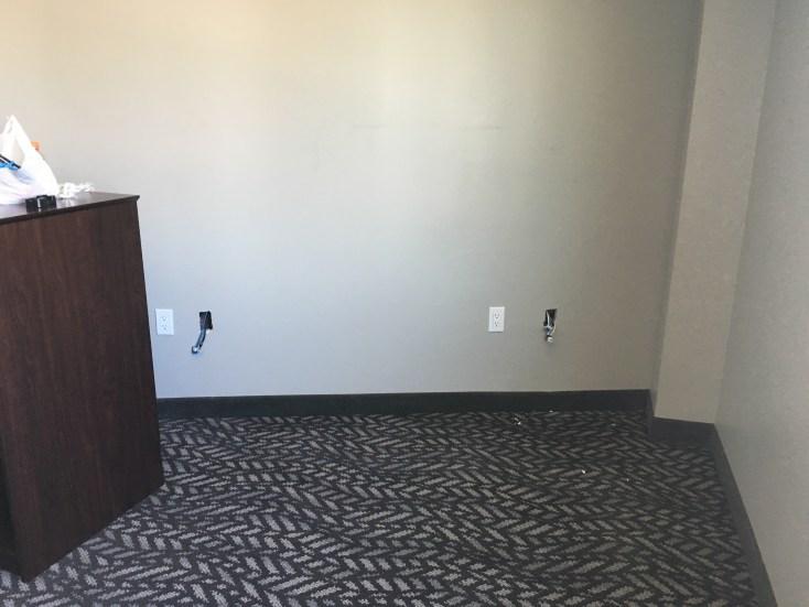 Jacks terminating in hotel rooms