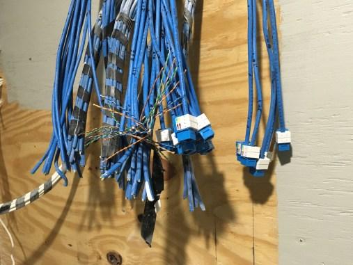 Extending short cat6 wires