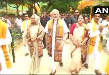 Modi with his Bangladeshi counterpart
