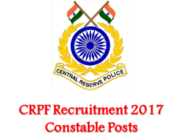 CRPF CT CONSTABLE ADMIT CARD 2017