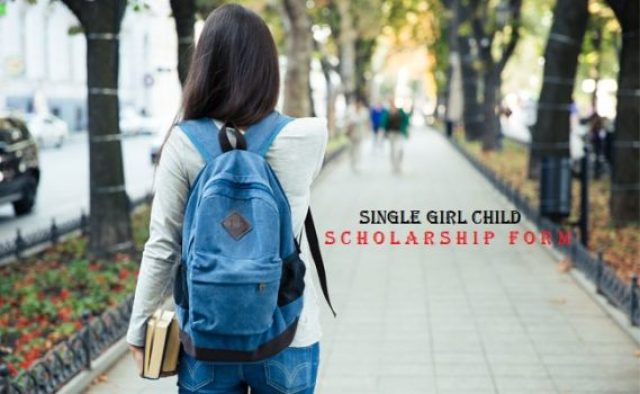 CBSE Scholarship for Single Girl Child Online Form 2017