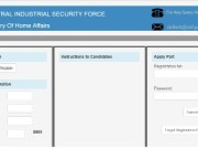 CISF Constable Tradesmen Admit Card 2017