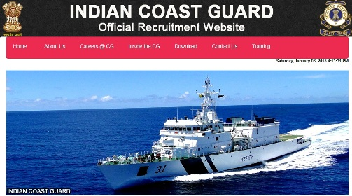 Indian Coast Guard Yantrik Admit Card 2018