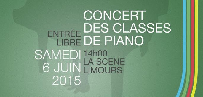 Concert Des Classes De Piano