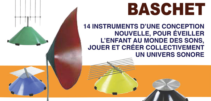 Atelier Structure Sonore Baschet