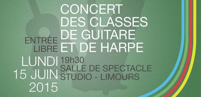 Concert Des Classes De Harpe Et Guitare