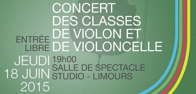 Concert Des Classes De Violon Et Violoncelle