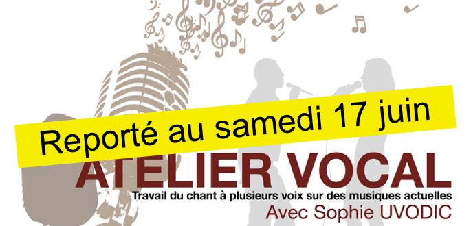 Stage – Atelier Vocal