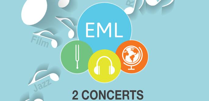 2 Concerts à La Scène Par Les élèves De L'école