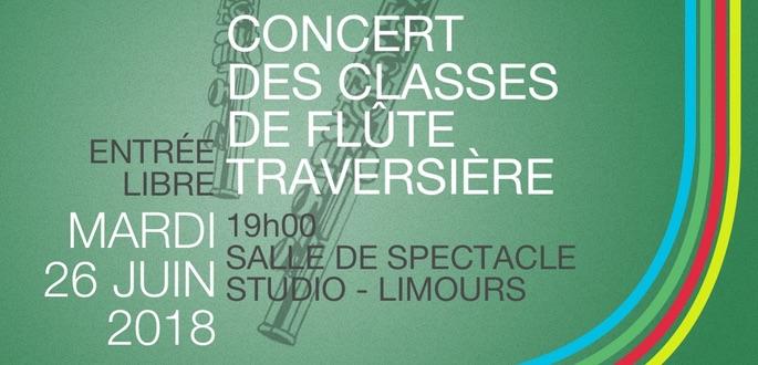 Concert Des Classes De Flûte Travsersière