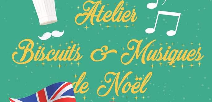 Atelier Musiques & Biscuits De Noël Anglais