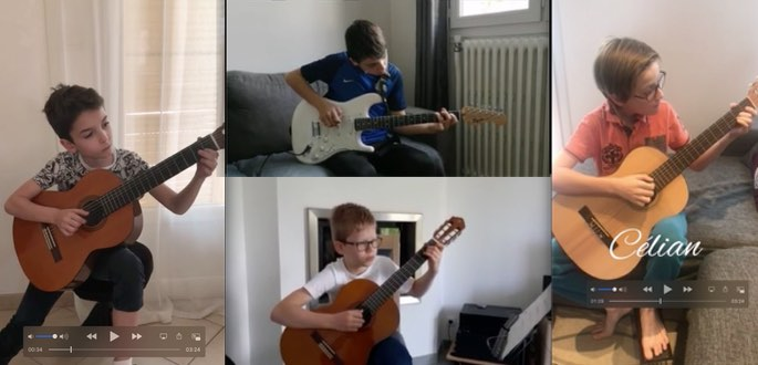 Classe De Guitare De Francis